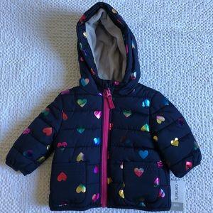 Carters NWT puffer coat